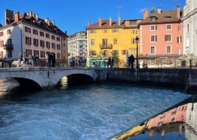 Annecy Stadt der Alpen