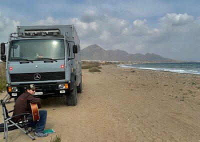 Freishteplätze Spanien Expeditionsmobil