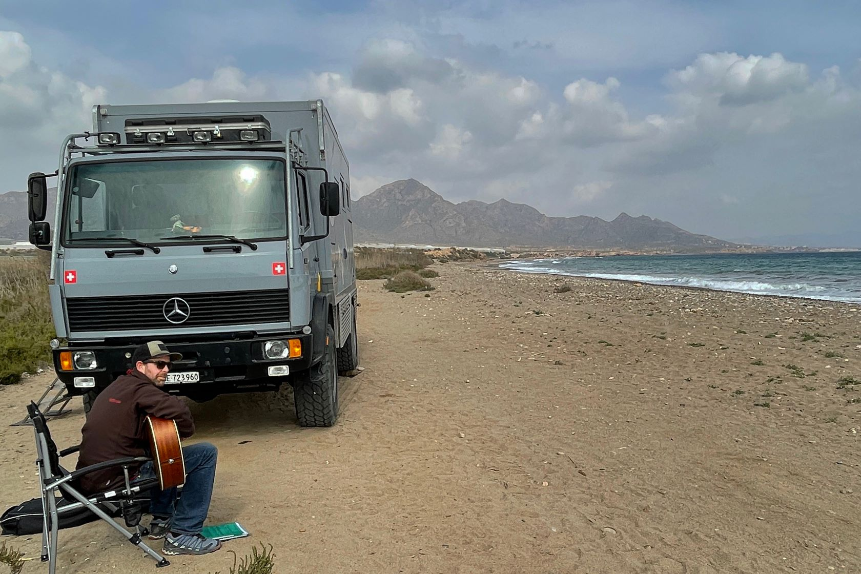 Freistehen Spanien, Camping, Beach, Murcia