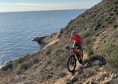 Biken in Murcia