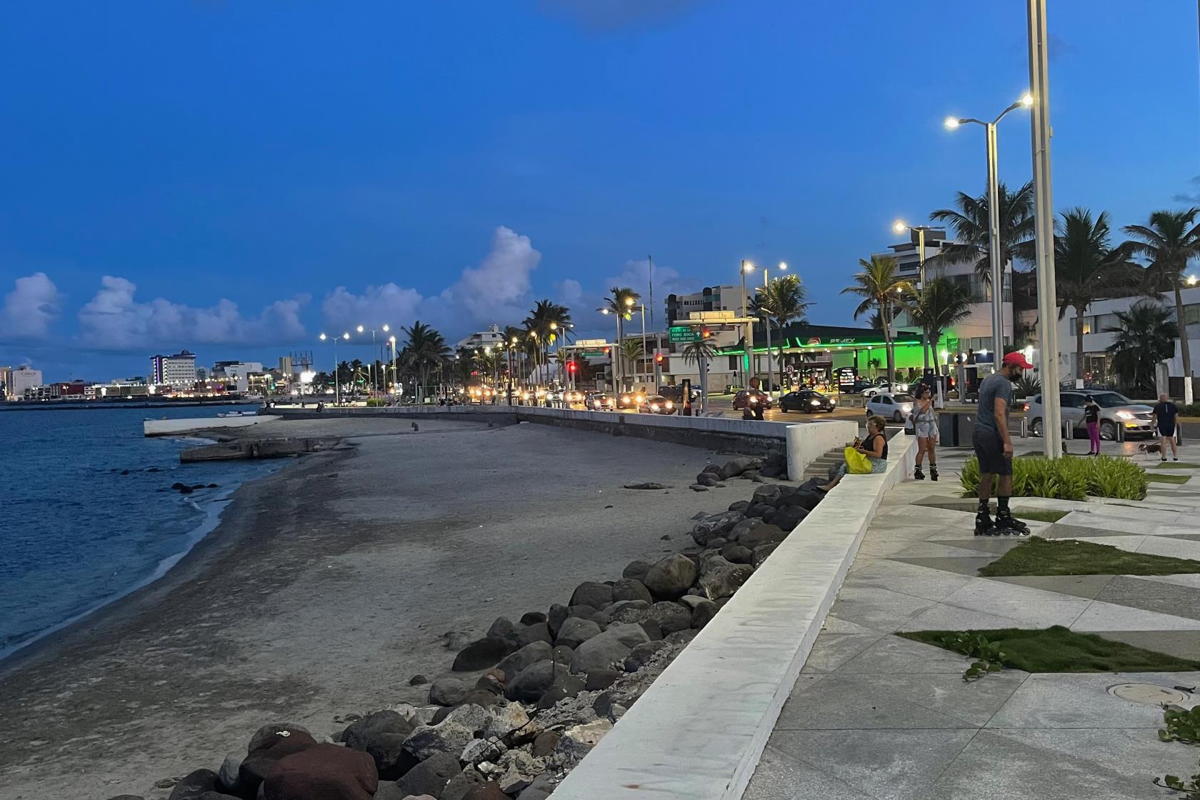 Strandpromenade Veracruz