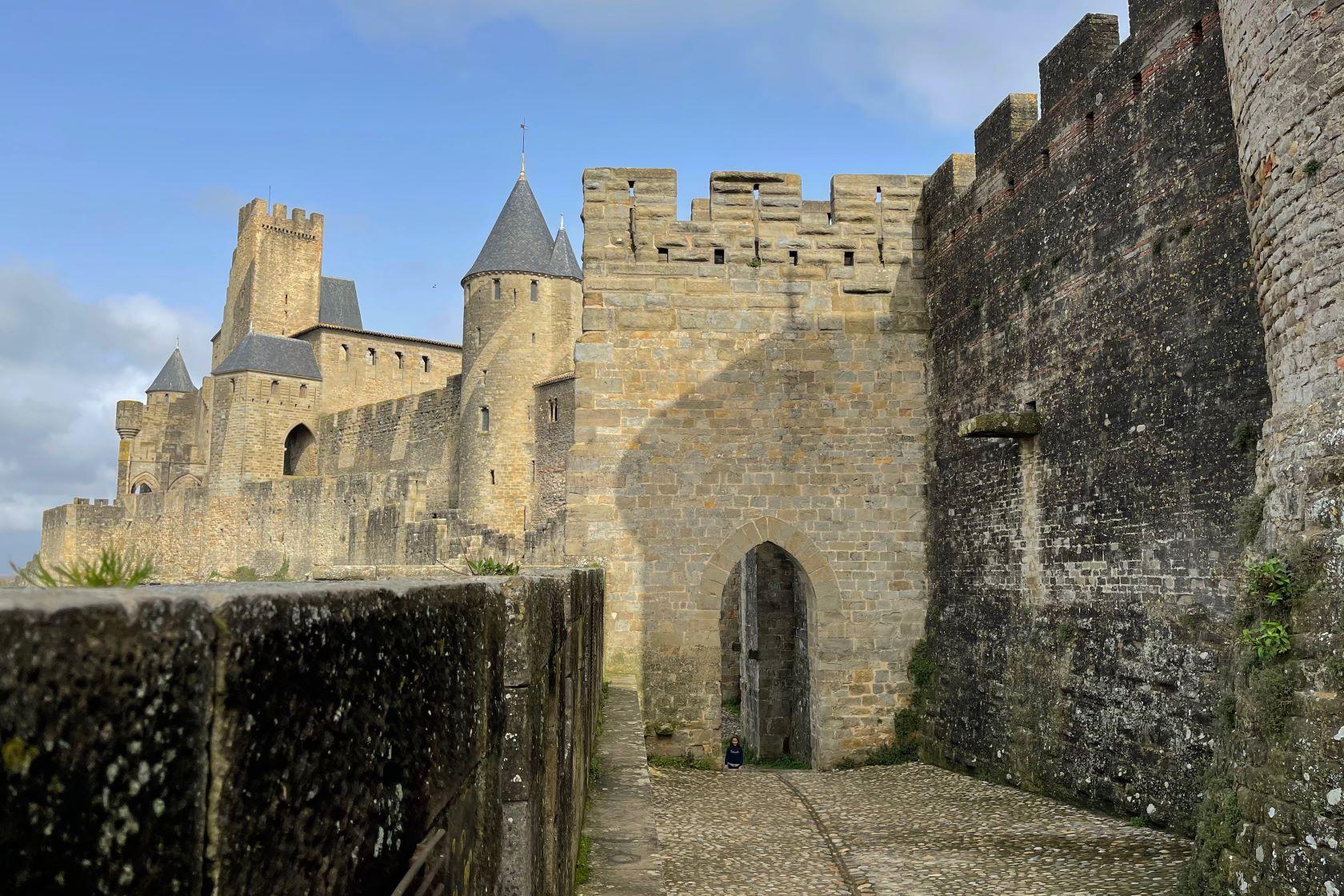 Ringmauer und Wehrtürme Carcassonne