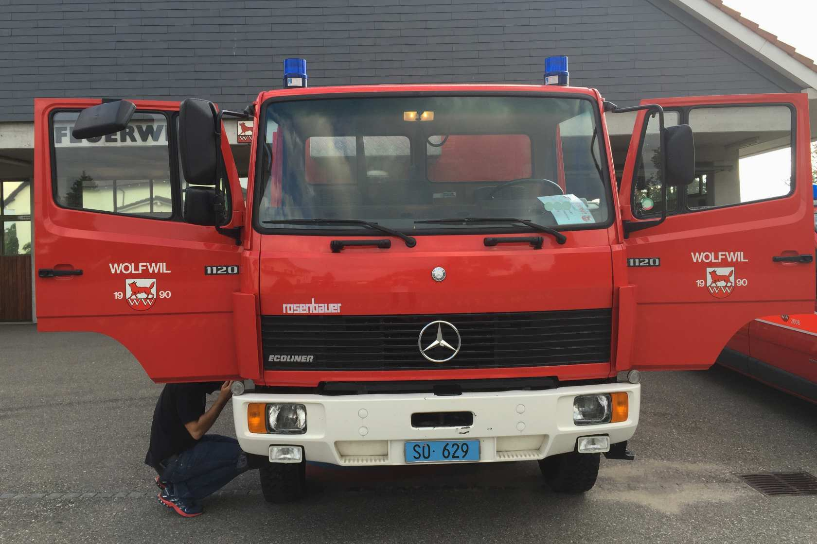 Whaly- the fire truck ready converted to an expedition vehicle