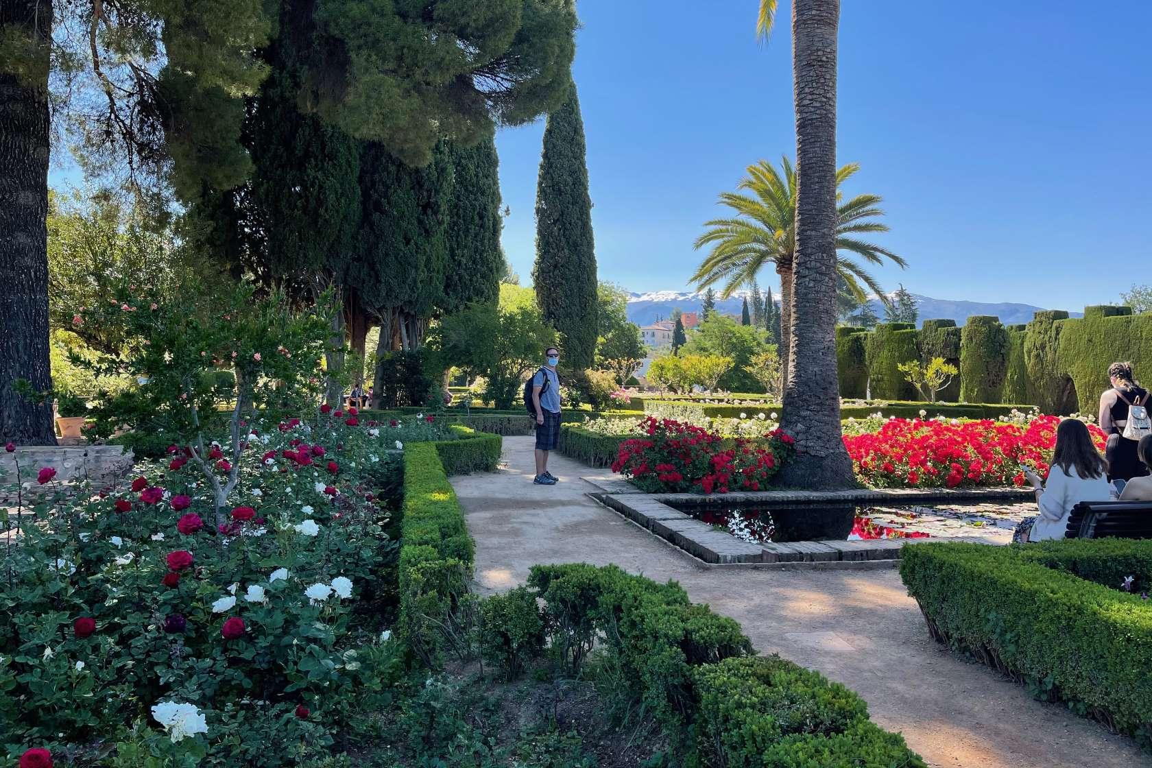 Alhambra Generalife Reiseberichte Spanien