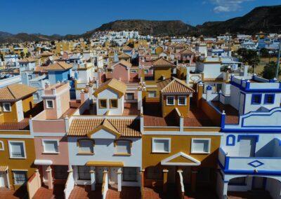 Andalusische Häuser