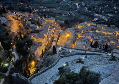 Moustiers-Sainte-Marie Provence Südfrankreich