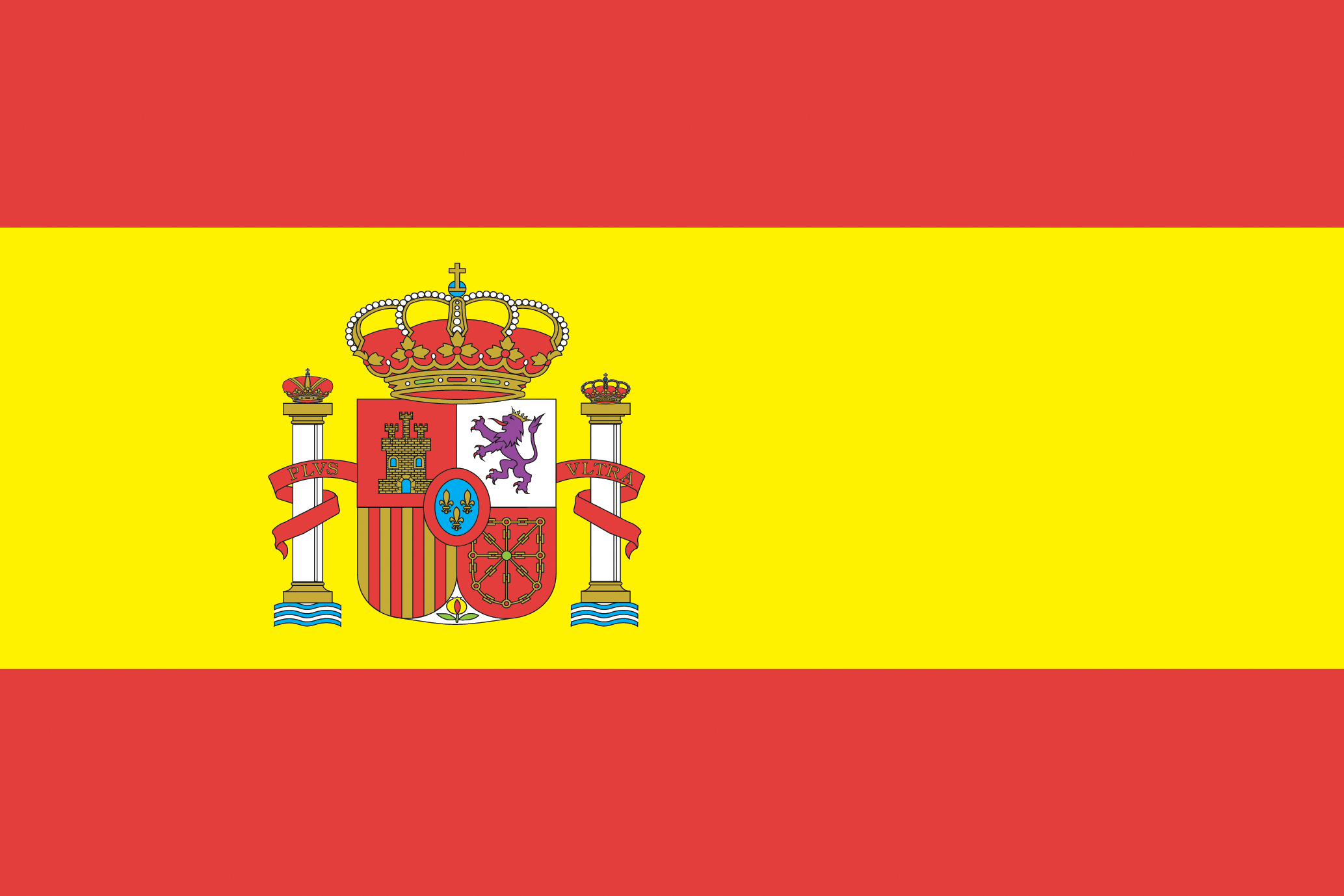 Spain flag expedition mobile