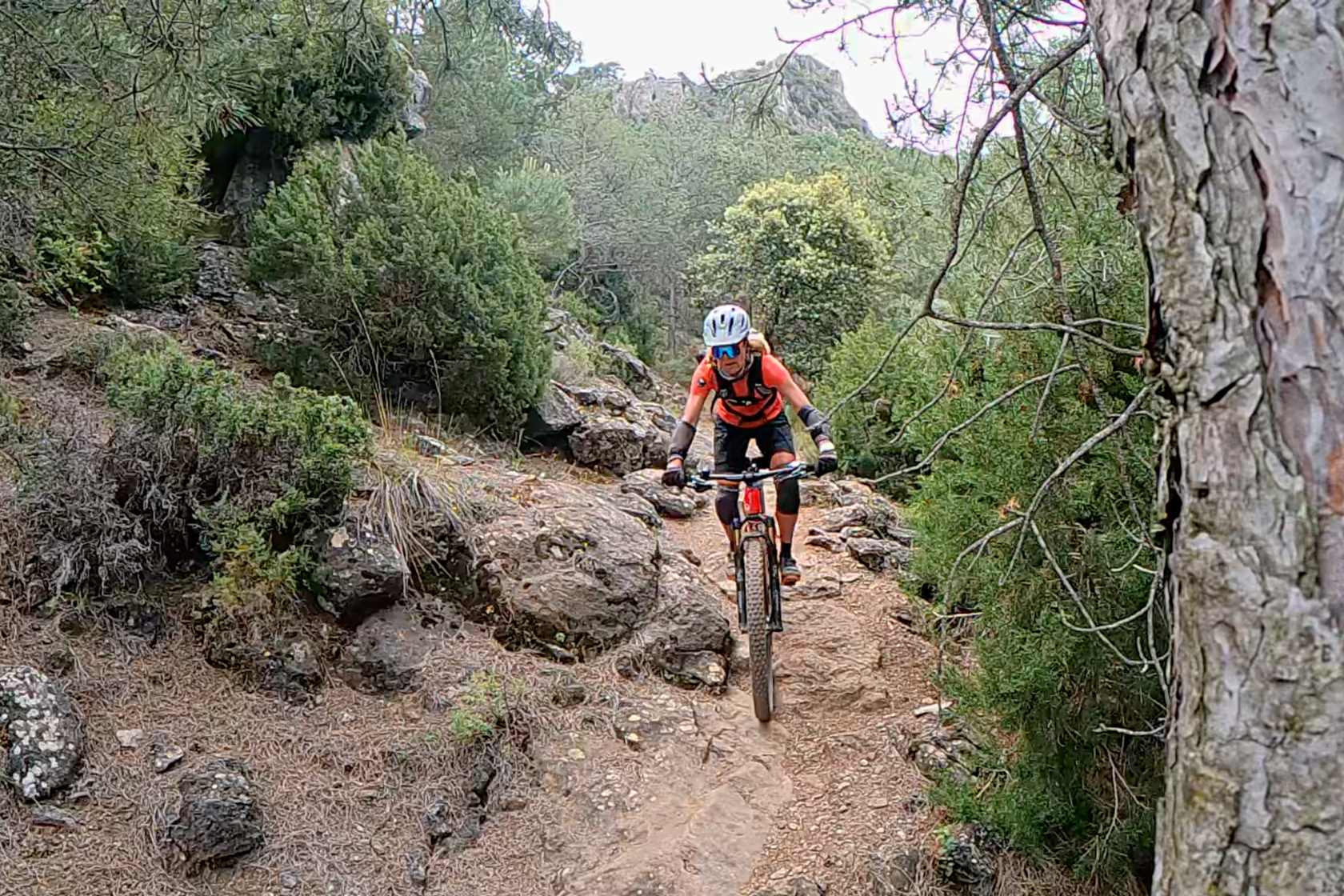 Biken Sierra Nevada Reiseberichte Spanien