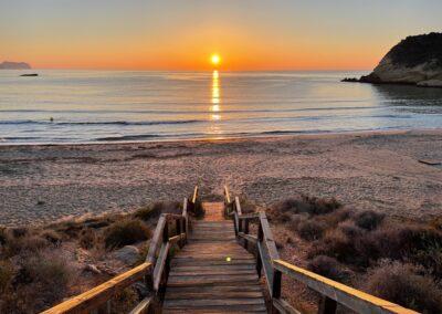 Sunrise in Murcia