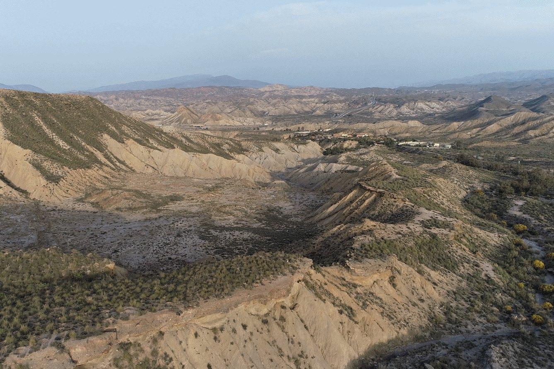 Tabernas Wüste Panorama