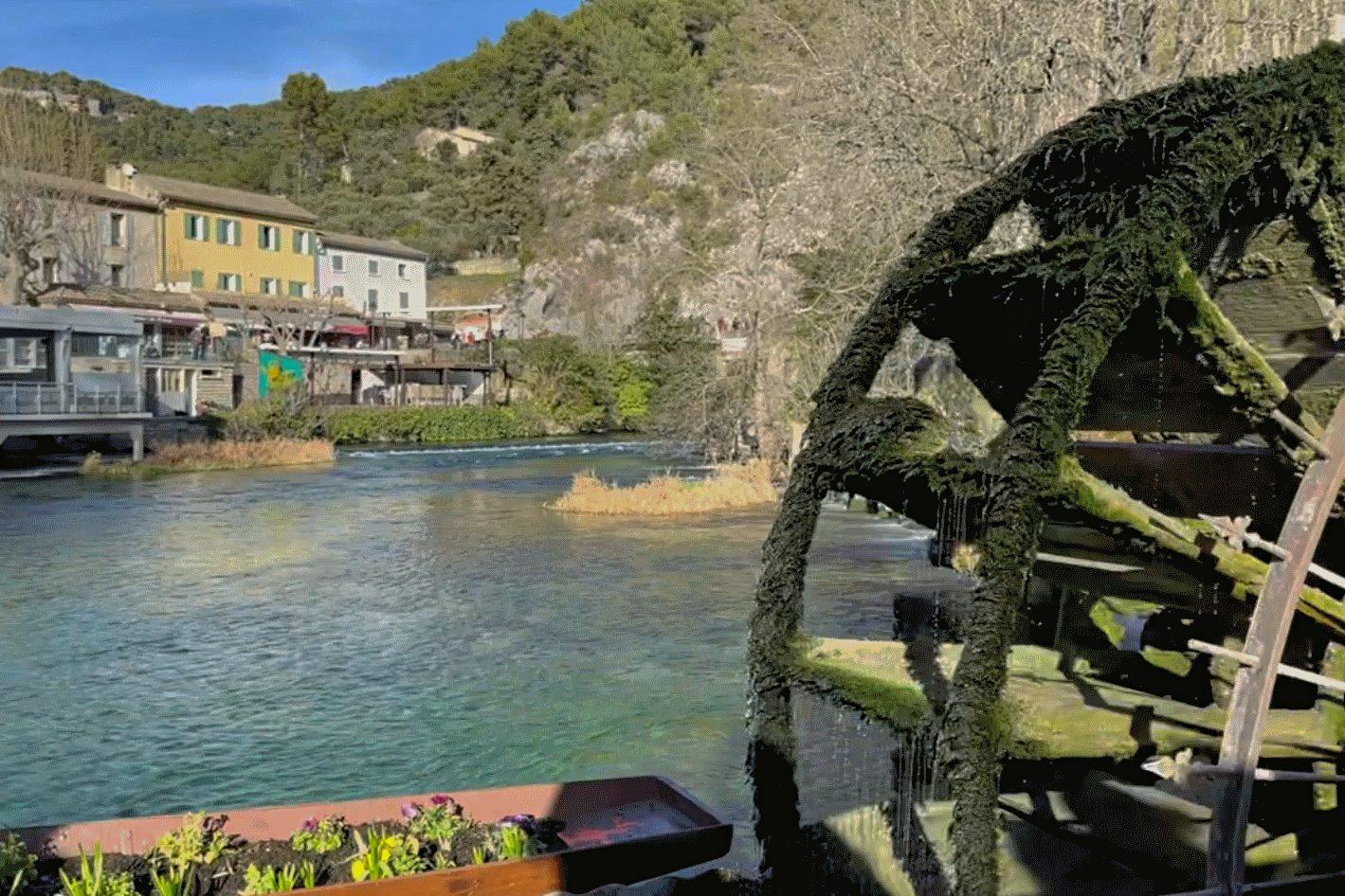 Fontaine de Vaucluse Sorgue Quelle