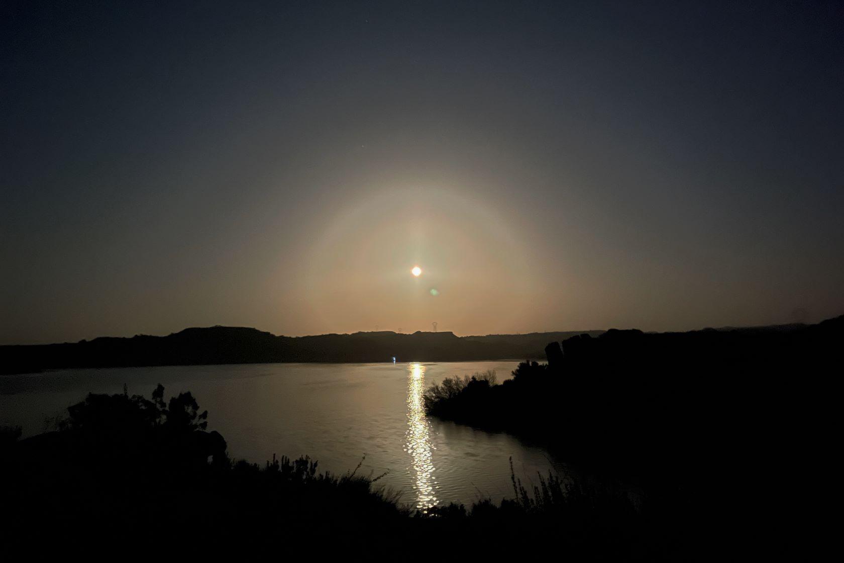 Stairecase to the moon Spanien Rio Ebro