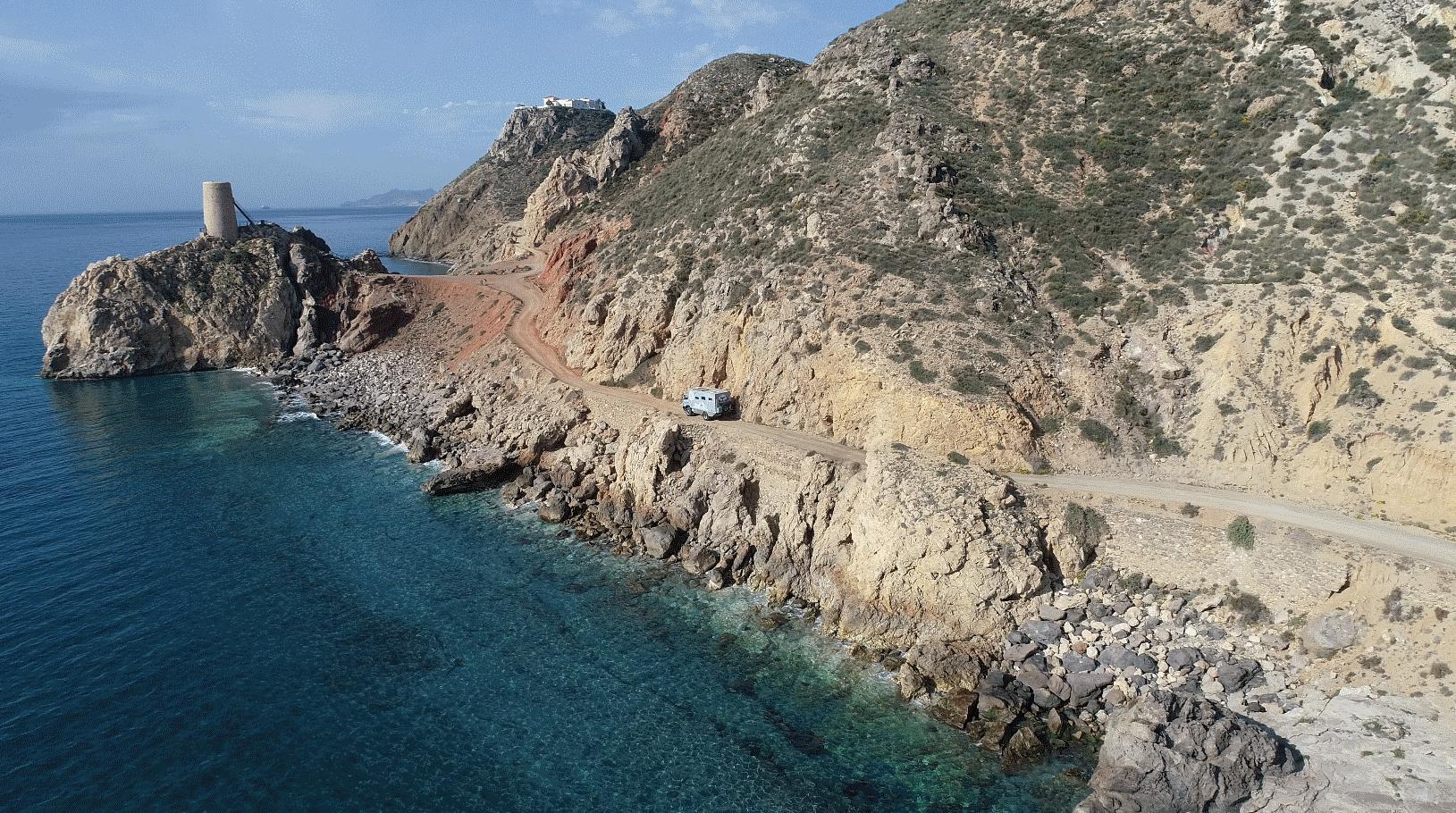 Whaly Küstenstrasse Reiseberichte Spanien
